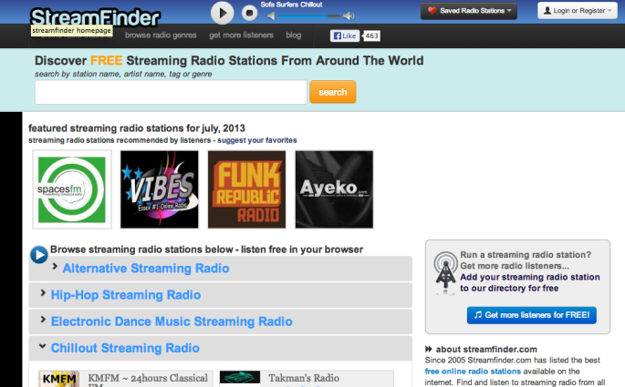 spavcesfm featured streamfinder